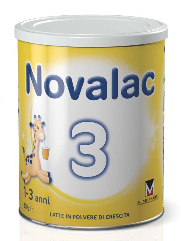 NOVALAC 3 LATTE DI CRESCITA IN POLVERE DA 1 A 3 ANNI 800 G