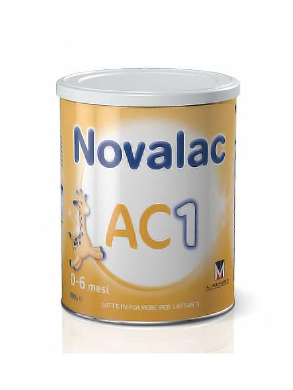 NOVALAC AC1 COLICHE LATTE IN POLVERE DALLA NASCITA 800 G