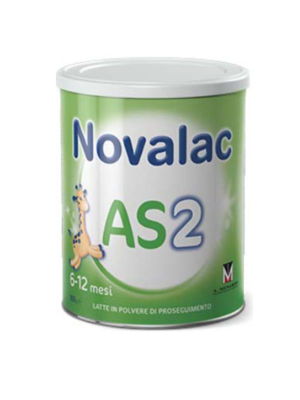 NOVALAC AS 2 LATTE IN POLVERE IN CASO DI STITICHEZZA DA 6 A 12 MESI 800 G