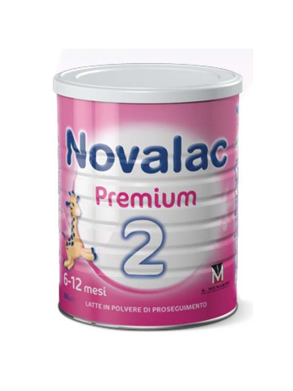 NOVALAC PREMIUM 2 LATTE DI PROSEGUIMENTO IN POLVERE DA 6 A 12 MESI 800 G