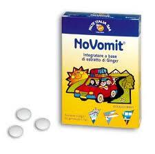 NOVOMIT 12 GOMME DA MASTICARE