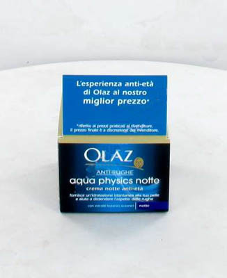 OLAZ AQUA PHYSICS CREMA NOTTE IDRATAZIONE ISTANTANEA - 50 ML