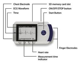 OMRON ECG MONITOR SINGOLO CANALE HCG-801