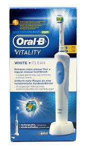 ORAL B BRAUN VITALITY WHITE CLEAN SPAZZOLINO ELETTRICO