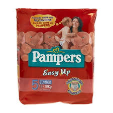 PAMPERS EASY UP 5 - PANNOLINI JUNIOR 12-18 KG - 14 PEZZI