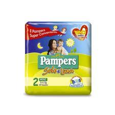 PAMPERS SOLE E LUNA 2 - PANNOLINI MINI 3-6 KG - 21 PEZZI