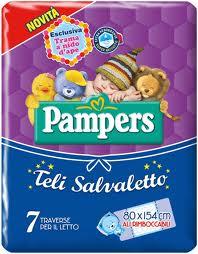 PAMPERS TELI SALVALETTO 80 x 154 CM - 7 PEZZI