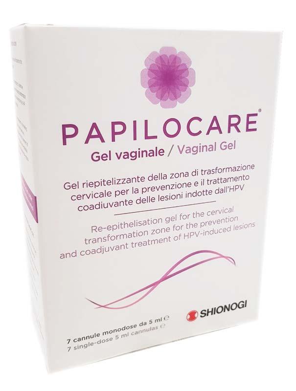 PAPILOCARE GEL VAGINALE 7 CANNULE DA 5 ML