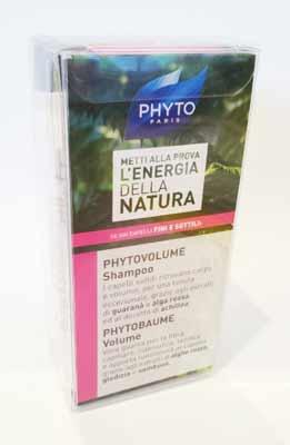PHYTO - PHYTOVOLUME SHAMPOO 50 ML + PHYTOBAUME VOLUME 50 ML