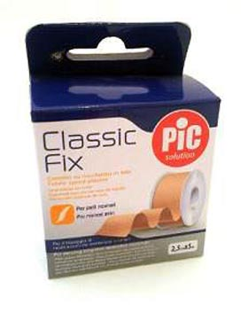 PIC SOLUTION CLASSIC FIX CEROTTO SU ROCCHETTO IN TELA 2,5 CM x 5 M