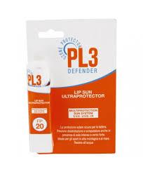 PL3 DEFENDER LIP SUN  ULTRAPROTECTOR - PROTEZIONE SOLARE PER LABBRA SPF 20
