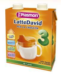PLASMON LATTE DAVID LIQUIDO PER LA CRESCITA 3 - DA 1 ANNO - 2 x 500 ML