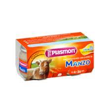 PLASMON OMOGENEIZZATO MANZO - DA 4 A 36 MESI - 2 x 80 G