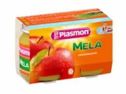 PLASMON OMOGENEIZZATO MELA - DAL QUARTO MESE - 2 x 104 G
