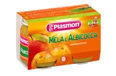 PLASMON OMOGENEIZZATO MELA E ALBICOCCA - DAL SESTO MESE - 2 x 104 G