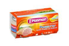 PLASMON OMOGENEIZZATO PROSCIUTTO - DA 4 A 36 MESI - 2 x 80 G