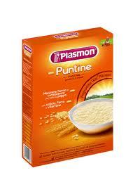 PLASMON PASTINE DA 6 A 36 MESI - PUNTINE - 340 G