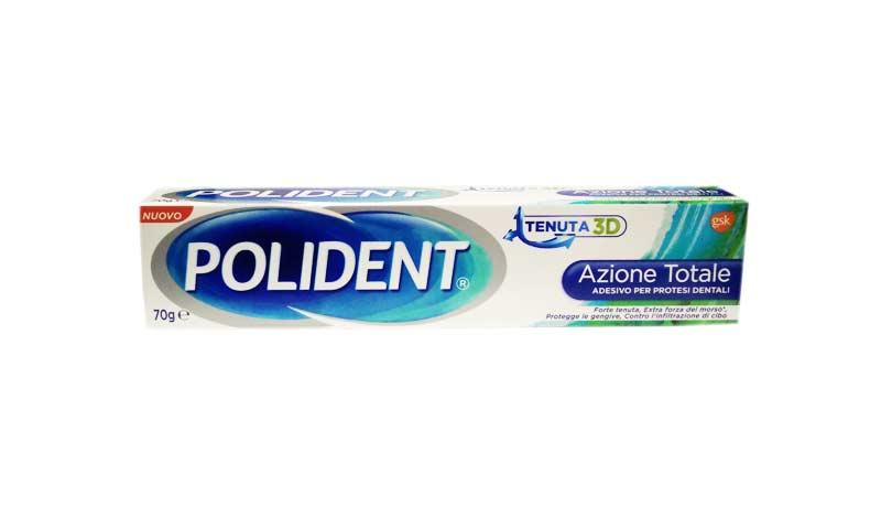 POLIDENT ADESIVO PER DENTIERE AZIONE TOTALE - 70 G