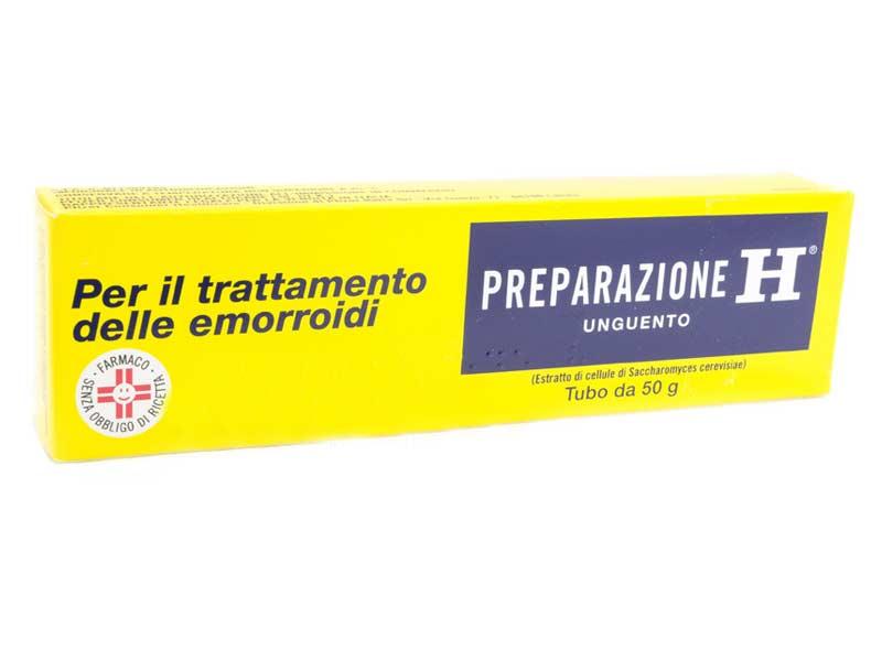 PREPARAZIONE H UNGUENTO PER TRATTAMENTO DELLE EMORROIDI 50 G