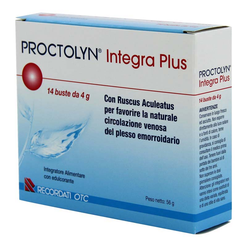 PROCTOLYN INTEGRA PLUS 14 BUSTE DA 4 G
