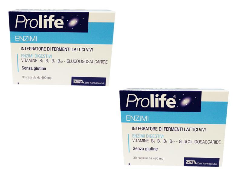 PROLIFE® ENZIMI 2 confezioni da 30 capsule