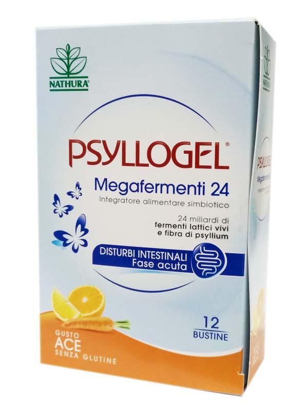 PSYLLOGEL® MEGAFERMENTI 24 GUSTO ACE 12 BUSTINE
