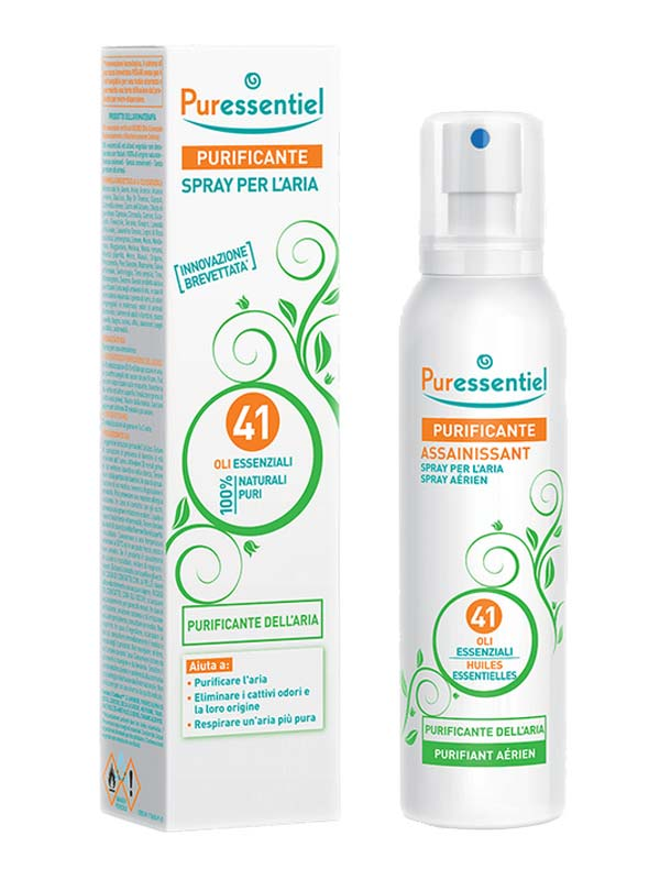 PURESSENTIEL PURIFICANTE SPRAY PER ARIA AI 41 OLI ESSENZIALI 200 ML
