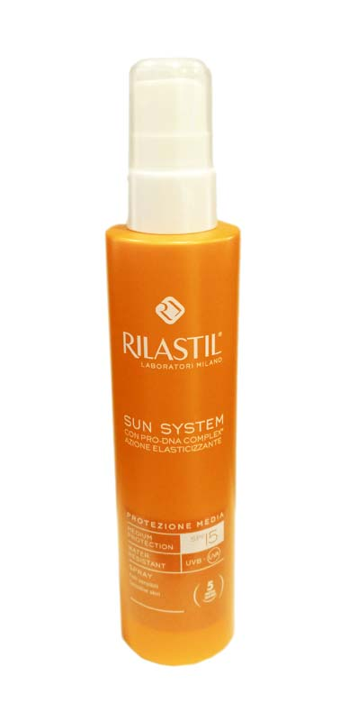 RILASTIL® SUN SYSTEM SPRAY SOLARE SPF 15 PROTEZIONE MEDIA 200 ML