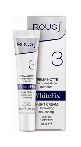 ROUGJ WHITEFIX CREMA NOTTE COMPENSATRICE NUTRIENTE - 40 ML