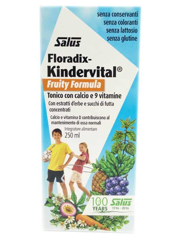 SALUS FLORADIX KINDERVITAL FRUITY FORMULA 250 ML