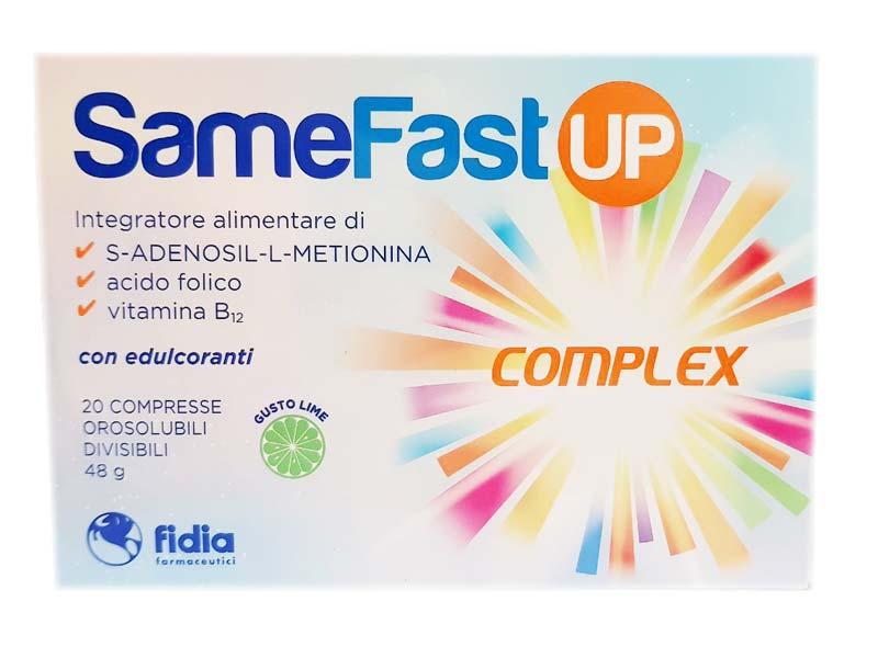 SAMEFAST UP COMPLEX 20 COMPRESSE