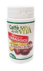 SANAVITA CAFFE' VERDE ESTRATTO PURO - 90 CAPSULE