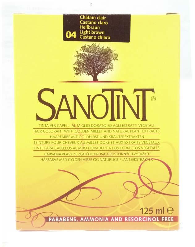 SANOTINT CLASSIC COLORE N 04 CASTANO CHIARO 125 ML