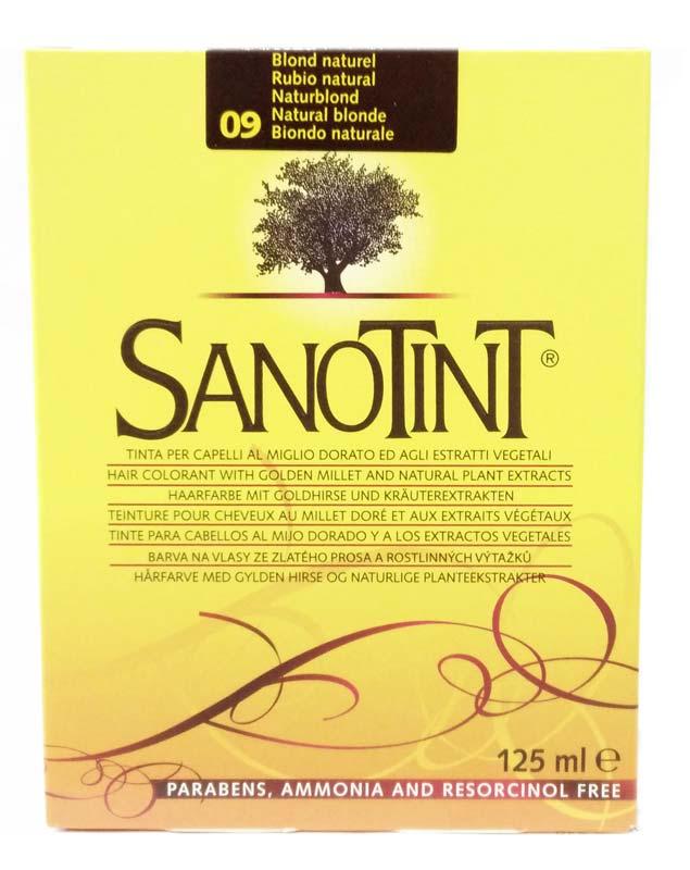 SANOTINT CLASSIC COLORE N 09 BIONDO NATURALE 125 ML