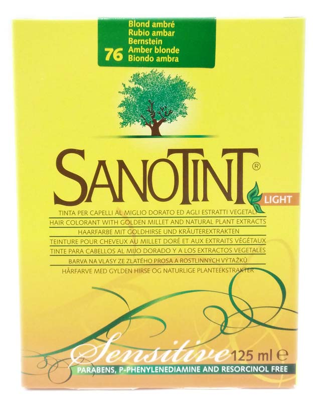 SANOTINT LIGHT SENSITIVE COLORE N 76 BIONDO AMBRA 125 ML