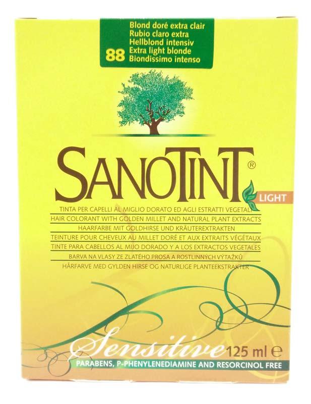 SANOTINT® LIGHT SENSITIVE COLORE N 88 BIONDISSIMO INTENSO 125 ML