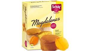 SCHAR DOLCI - MAGDALENAS MERENDINE SENZA GLUTINE - 4 x 50 G