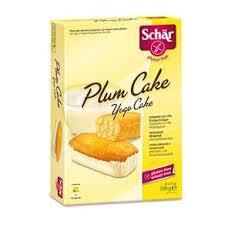 SCHAR DOLCI - PLUM CAKE SENZA GLUTINE - 6 x 33 G