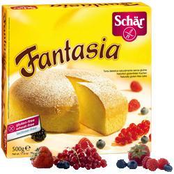 SCHAR DOLCI - TORTA FANTASIA SENZA GLUTINE - 500 G