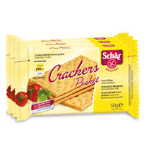 SCHAR SNACK - CRACKERS POCKET SENZA GLUTINE - 3 x 50 G