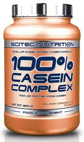 SCITEC NUTRITION 100x100 CASEIN COMPLEX - PROTEINE DA CASEINA GUSTO FRUTTO DELLA  PASSIONE E CIOCCOLATO BIANCO - 920 G