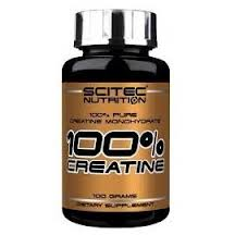 SCITEC NUTRITION 100x100 CREATINE - INTEGRATORE ALIMENTARE DI CREATINA - 100 G