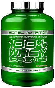 SCITEC NUTRITION 100X100 WHEY ISOLATE - PROTEINE DA SIERO DI LATTE GUSTO FRAGOLA - 2000 G