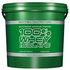 SCITEC NUTRITION 100X100 WHEY ISOLATE - PROTEINE DA SIERO DI LATTE GUSTO FRAGOLA - 4000 G