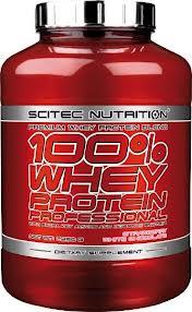 SCITEC NUTRITION 100x100 WHEY PROTEIN PROFESSIONAL - PROTEINE DA SIERO DI LATTE GUSTO BANANA - 2350 G