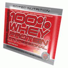 SCITEC NUTRITION 100x100 WHEY PROTEIN PROFESSIONAL - PROTEINE DA SIERO DI LATTE GUSTO CIOCCOLATO E COCCO - 60 BUSTINE DA 30 G