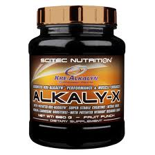 SCITEC NUTRITION ALKALY-X - PROMOTORE AVANZATO PER LA PERFORMANCE A BASE DI CREATINA KRE-ALCALYN GUSTO LAMPONE E LIMONE ROSA - 660 G