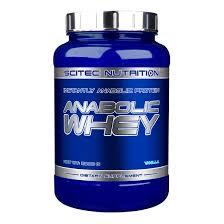 SCITEC NUTRITION ANABOLIC WHEY - PROTEINE DEL LATTE CON AMINOACIDI EXTRA GUSTO FRAGOLA - 900 G