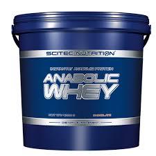 SCITEC NUTRITION ANABOLIC WHEY - PROTEINE DEL LATTE CON AMINOACIDI EXTRA GUSTO VANIGLIA - 4000 G