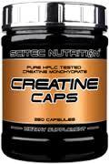 SCITEC NUTRITION CREATINE CAPS - INTEGRATORE ALIMENTARE - 250 CAPSULE